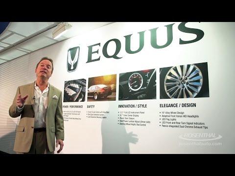 2015 Hyundai Equus Show and Tell.