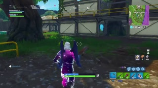 Fortnite Playground Galaxy Skin vs Black Knight
