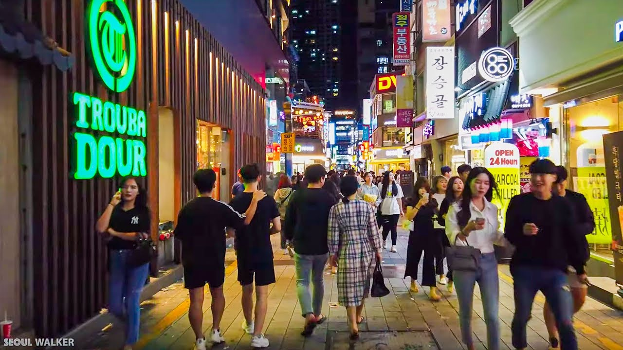 Download [4K] Seomyeon Never Sleep Nightlife | Walking Around Busan Korea 부산 서면 밤거리 西面