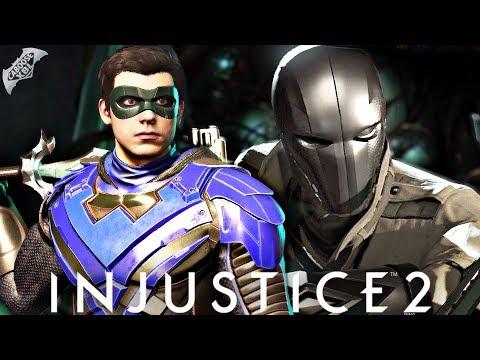 Injustice 2 Online - NIGHTWING VS CHROME HOOD!