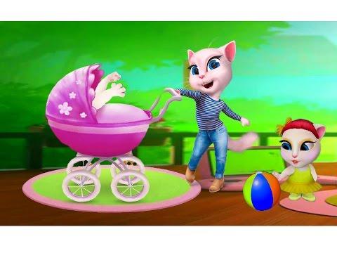 Игры моя говорящая анжела кошка Анджела играть онлайн