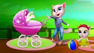 Моя ГОВОРЯЩАЯ АНДЖЕЛА СБОРНИК 32-34 Мультик про котиков Мульт ИГРА # УШАСТИК KIDS