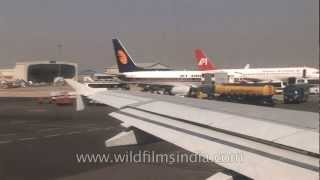 Runway at the Netaji Subhas Chandra Bose International Airport, kolkata