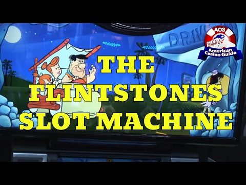 """The Flinststones"" Slot Machine from WMS Gaming"