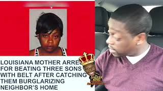 Shuler King - Woman Arrested For Beating Her Sons after Catching Them Committing Burglary!!!