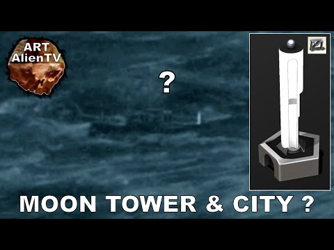 MOON TOWER & CITY - Lunar Base Structures 3. Apollo 8. ArtAlienTV - 1080p60