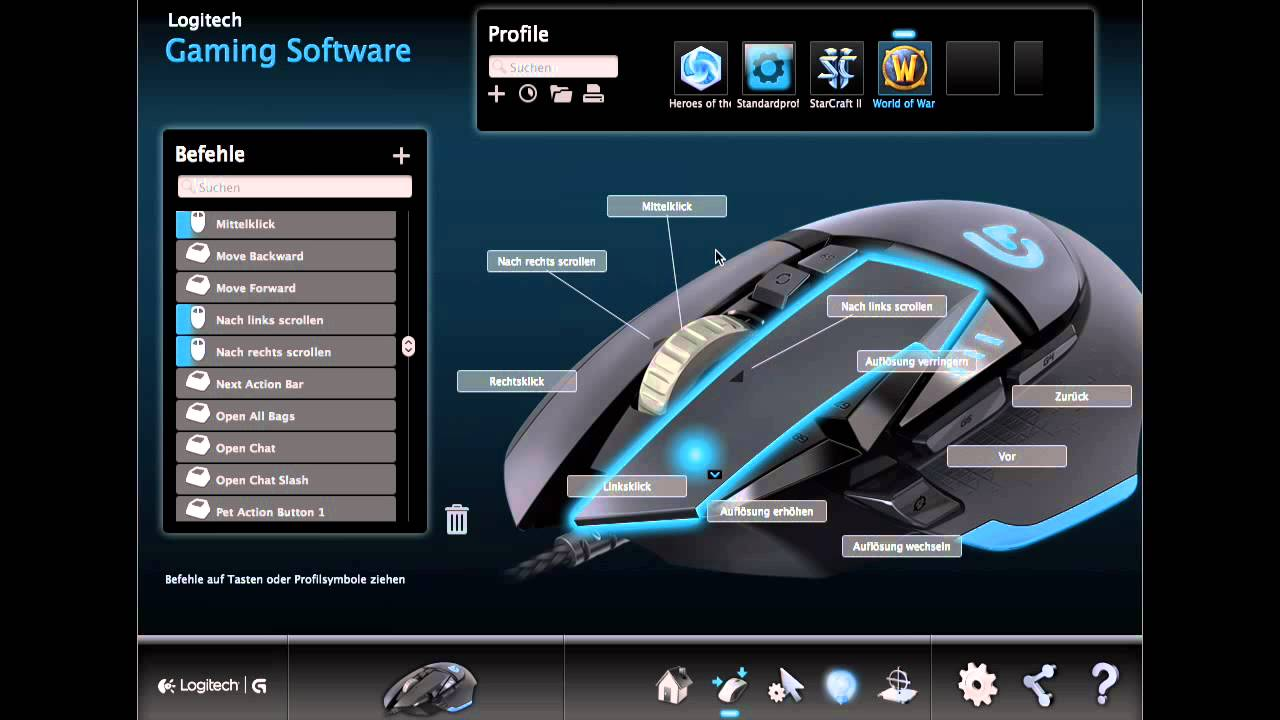 Review Logitech G502 Proteus Core Und Gaming Software