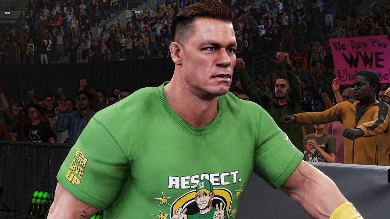John Cena NEW LOOK Entrance! #Shorts