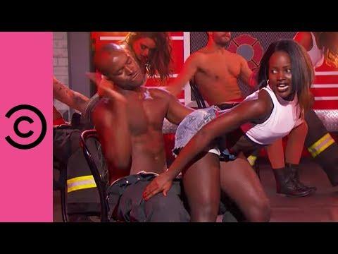 Lupita Nyong'o Raunchy Performance Of 'Whatta Man' | Lip Sync Battle