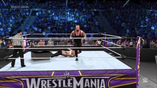 WWE 2K15 PS4 gameplay. Undertaker