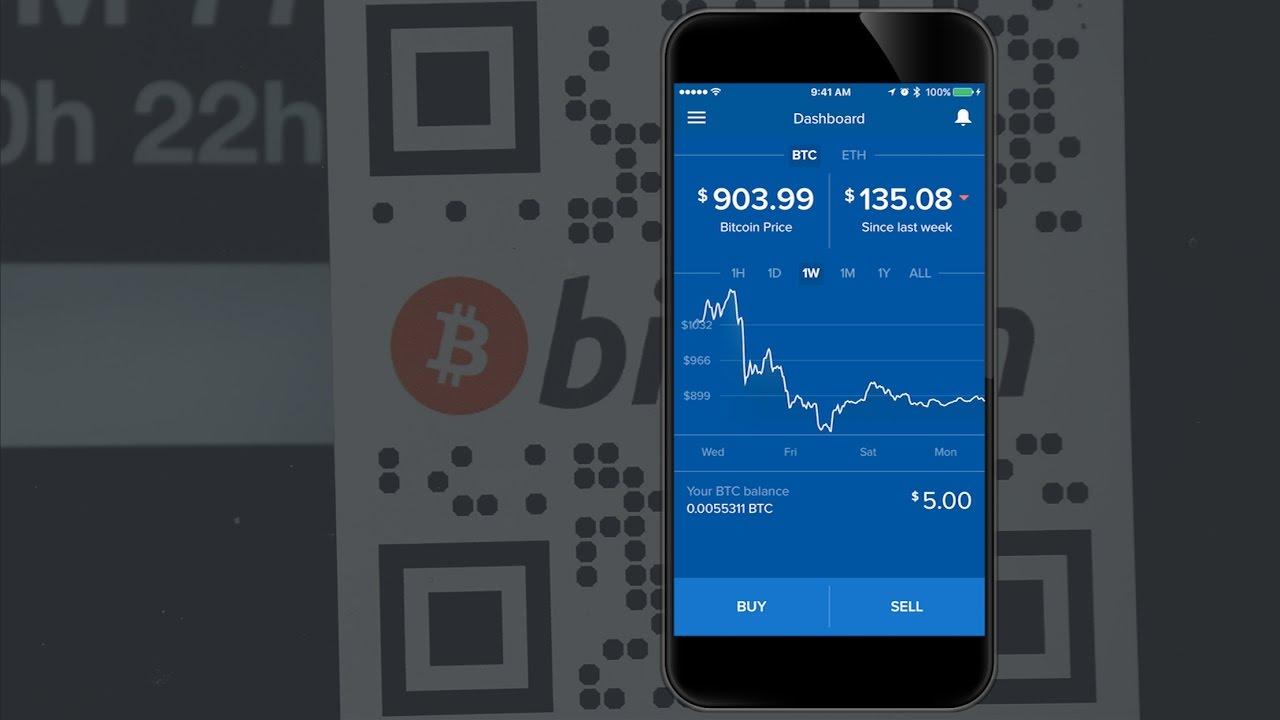 bitcoin app trading
