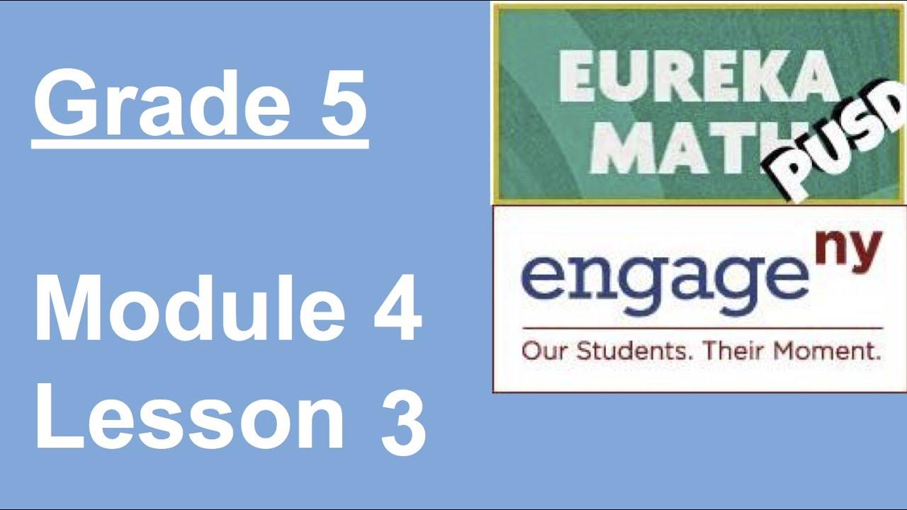 Eureka Math Worksheets 5th Grade Module 4 Lesson 5 Eureka