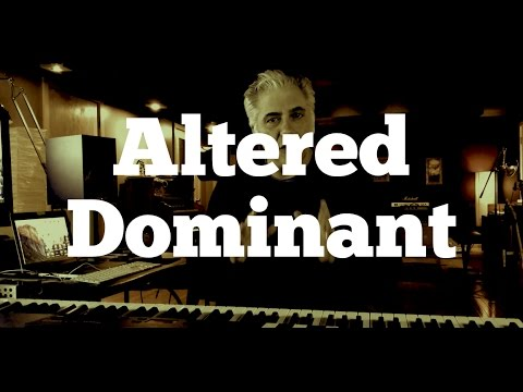 The Altered Dominant Scale - Super Locrian & Diminished Whole Tone