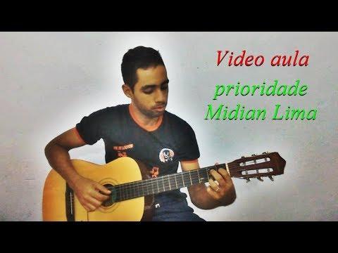 Introdução Da Musica Prioridade Midian Lima No Violão