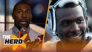 Greg Jennings lists why Dez will be a good fit on Browns, Patriots lack of depth | NFL | THE HERD