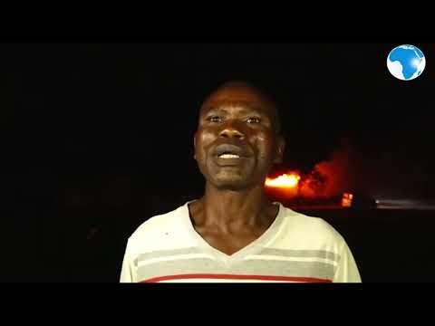 Fuel Tanker Explodes Along Nairobi-Mombasa Highway