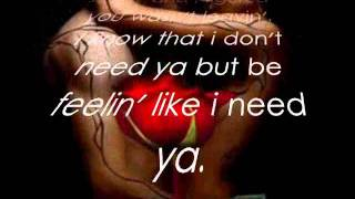 Webbie Ft. LeToya Luckett - I Miss You (Lyrics)