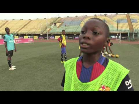 Barcelona Sets Up Nigeria Academy