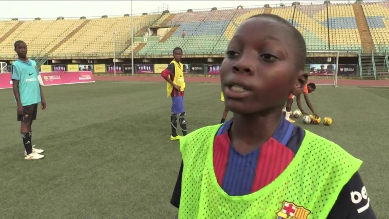 Barcelona Sets Up Nigeria Academy Youtube