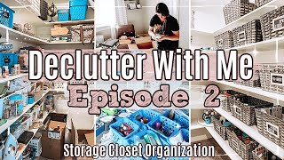 ULTIMATE CLOSET DECLUTTER ORGANIZE & CLEAN WITH ME 2021 ✻ WHOLE HOUSE DECLUTTER SERIES | EPISODE 2