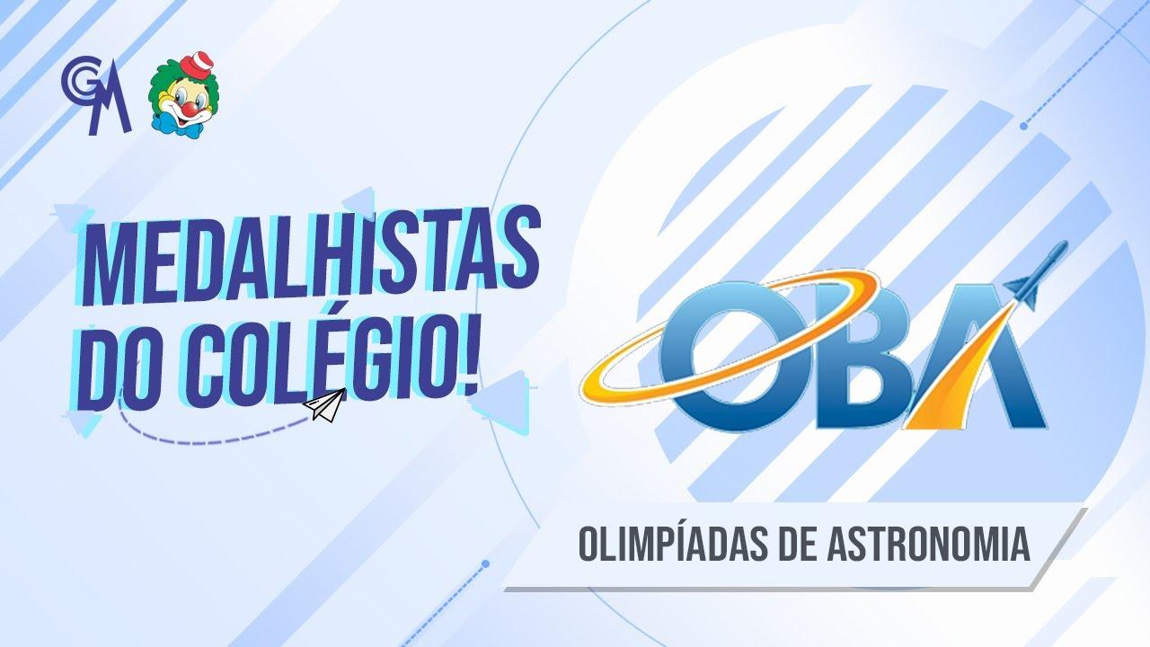 ALUNOS MEDALHISTAS NA OLIMPÍADA BRASILEIRA DE ASTRONOMIA