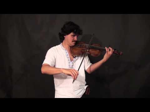 Tcha Limberger - Hungarian Song / Magyar Nota / Gypsy Violin (Lesson Excerpt)