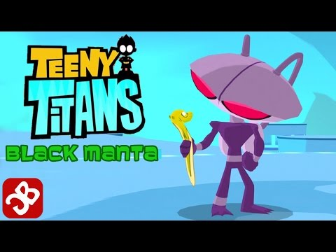 Teeny Titans - Black Manta - New Figure - iOS / Android - Gameplay Video