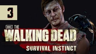 The Walking Dead Survival Instinct Gameplay Walkthrough - Part 3 Fontana Sniper Let