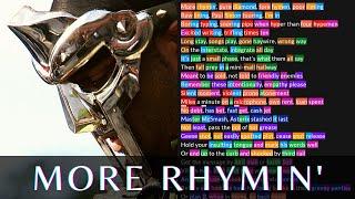 MF DOOM - More Rhymin' | Lyrics, Rhymes Highlighted