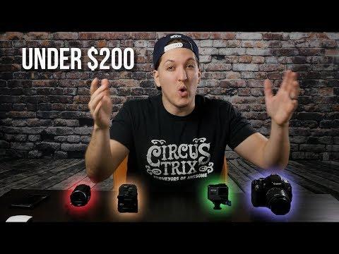 Best 2019 VLOG camera under $200?
