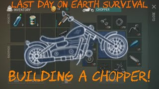 What You Need To Build A Chopper! | Last Day On Earth: Survival Gameplay