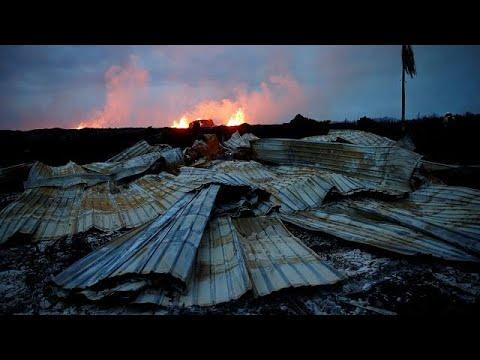 حمم بركان كيلاويا تواصل اجتياح جزيرة هاواي  - نشر قبل 3 ساعة