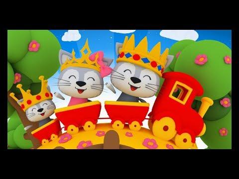 Lundi matin, le roi, la reine et le petit prince - Comptines pour les bébés - TITOUNIS