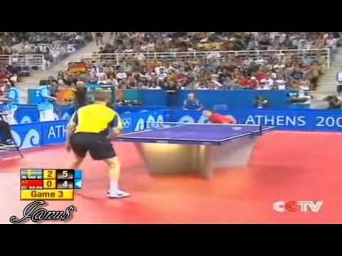 2004 Olympics (ms-R16) WALDNER Jan Ove - MA Lin [Full Match|Short Form]