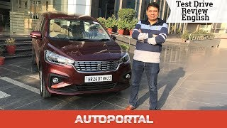 2018 Maruti Suzuki Ertiga English Review - Autoportal