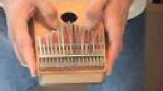 Treble Kalimba:  Nowhere Man