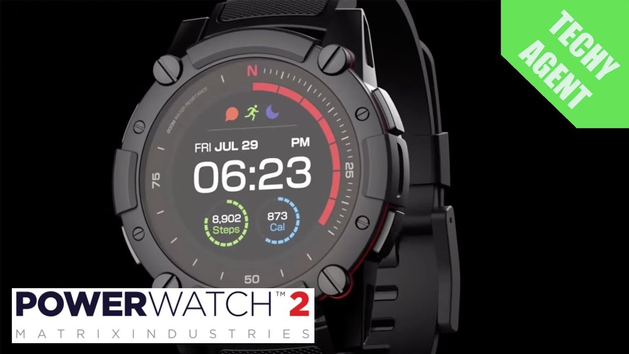Powerwatch 2 from matrix ces 2019 youtube for Matrix powerwatch