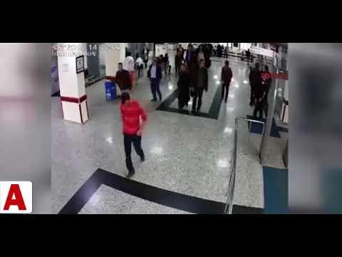 Hastanede yere düşen ´holter´ takılı hastayı canlı bomba sandılar