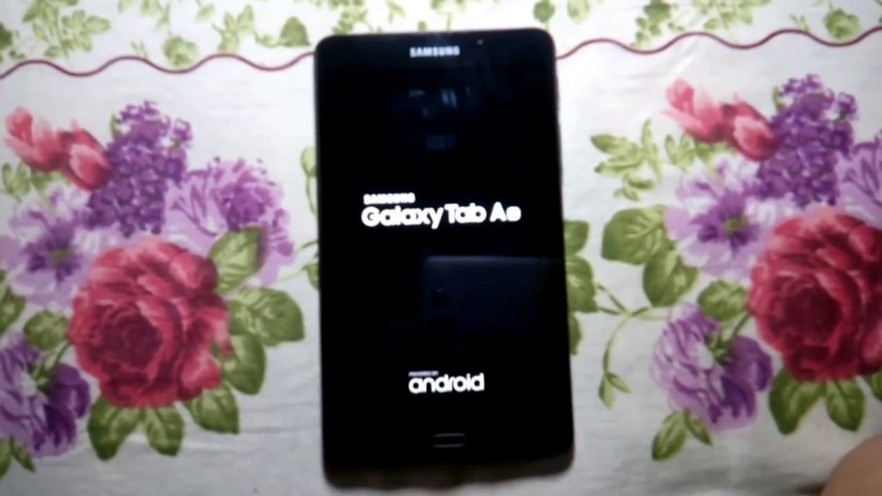 Samsung Galaxy Tab Reset