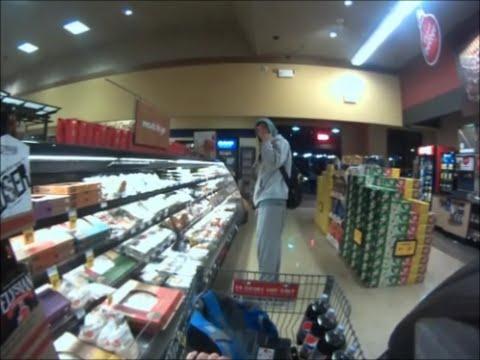 Safeway, Shoplifter Caught On Camera, Auburn, Washington