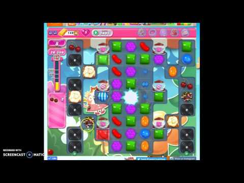 Candy Crush Level 2491 help w/audio tips, hints, tricks