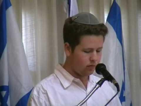 Israel Memorial Day at Shalom Hartman Institute High School