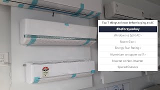 Buy Best AC in 2020 | AC Buying Guide | LG,Daikin,Mitsubisi,etc.| Online or offline