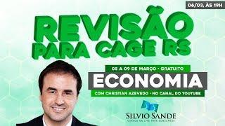 REVISÃO CAGE-RS: ECONOMIA COM CHRISTIAN AZEVEDO