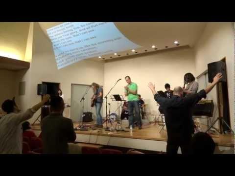 Sean Feucht & Micah Lawrence Worship Conference in Osaka Japan 1.28.2013