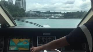 Docking Megayacht