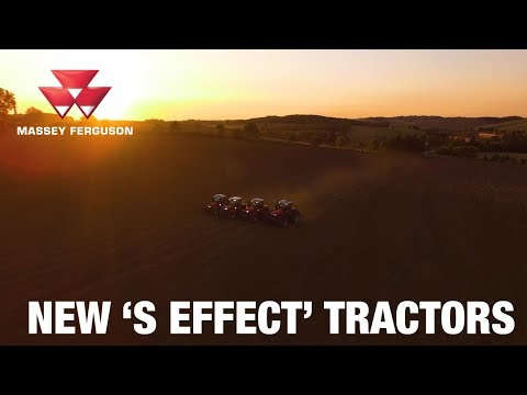 New Massey Ferguson 'S Effect' Tractors