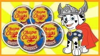 Щенячий Патруль - Супергерои - Чупа-Чупс. Собачий патруль - Paw Patrol - Chupa Chups