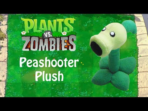 Plants vs Zombies: Peashooter Plush Tutorial