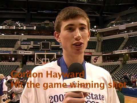 Indiana High School Boys Basketball:Gordon Hayward interview